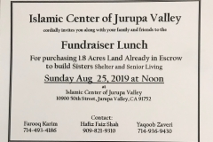 Senior Living Fundraiser Lunch